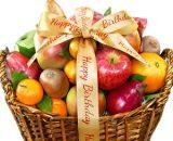 happy bday basket VizagShop.com
