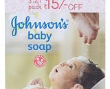 Johnnsons baby soap 3in1 pack VizagShop.com
