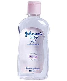 Johnsons baby oil 100ml VizagShop.com