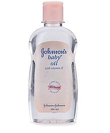 Johnsons baby oil 200ml VizagShop.com