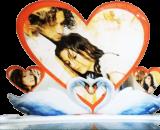 Love shaped photoframe VizagShop.com