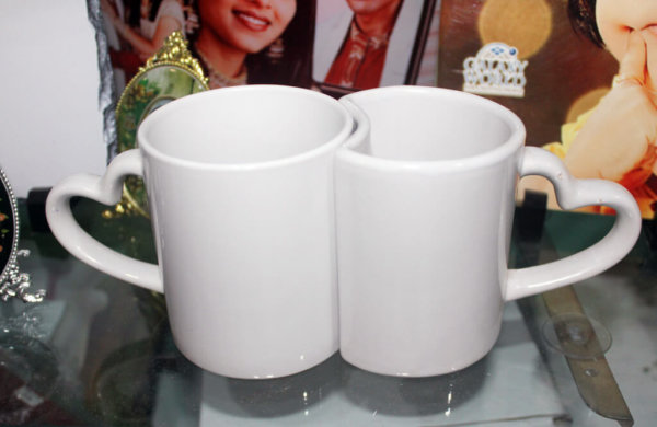 Printed Couple Mugs VizagShop.com