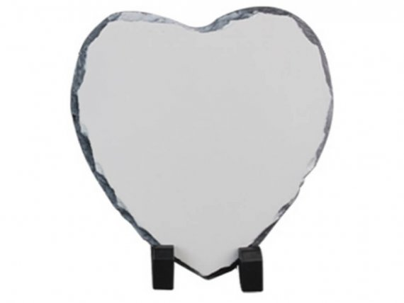 Stone Printed Photo Frame vizag heart shape VizagShop.com