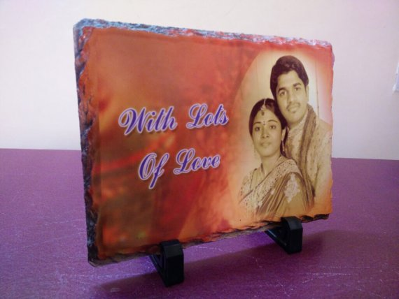 Stone Printed Photo Frame vizag square VizagShop.com