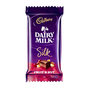 cadbury dairy milk silk fruitnut 60gm VizagShop.com