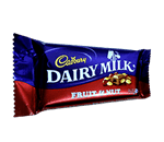 dairy milk fruitnut 80gm VizagShop.com