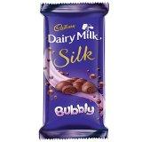 dairy milk silk bubbly 50gm VizagShop.com