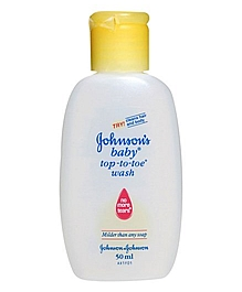 jhonson baby top to toe wash 50ml VizagShop.com