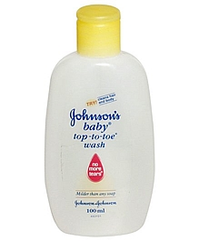 jhonsons baby top to toe wash 100ml VizagShop.com