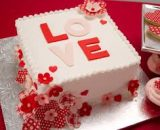 strawberry valentine cake VizagShop.com