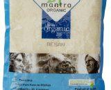 24 Mantra Organic Besan Gram Flour 500g VizagShop.com
