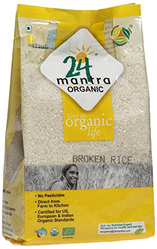 24 Mantra Organic Broken Rice 1kg VizagShop.com