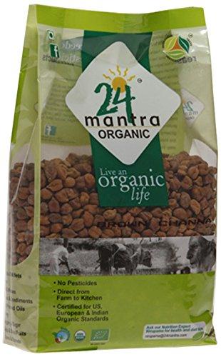 24 Mantra Organic Brown Channa Whole 1kg VizagShop.com