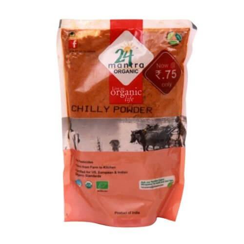 24 Mantra Organic Chilli Powder 200g VizagShop.com