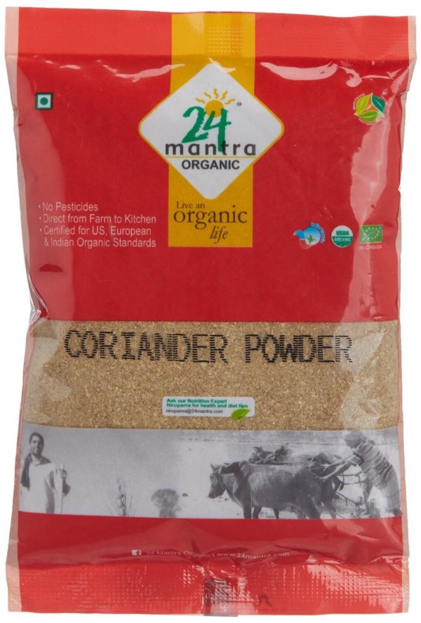 24 Mantra Organic Coriander Powder 100g VizagShop.com