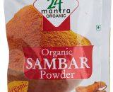 24 Mantra Organic Sambar Powder 100g VizagShop.com