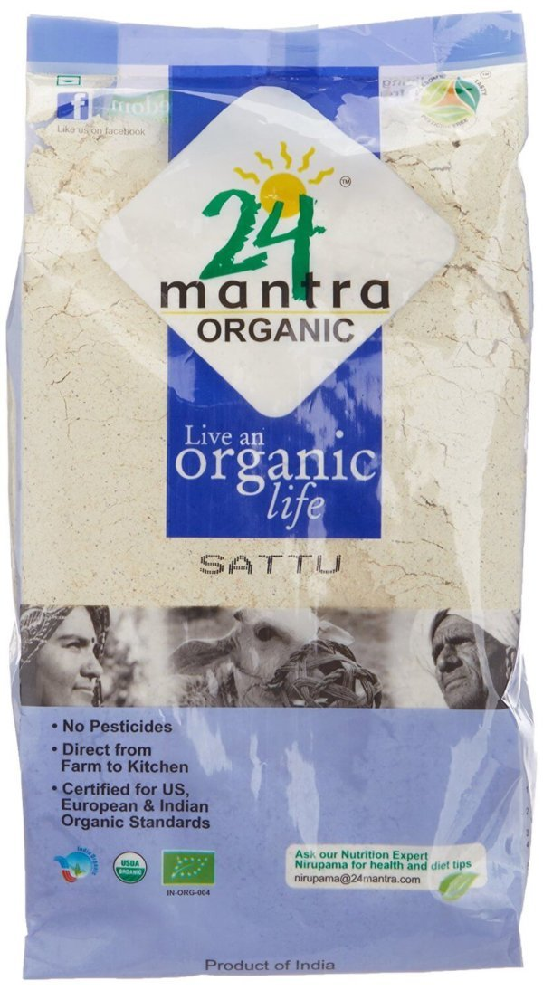 24 Mantra Organic Sattu Atta 500g e1489864832477 VizagShop.com