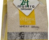 24 Mantra Organic Wheat Bran 500g VizagShop.com