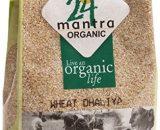 24 Mantra Organic Wheat Daliya 500g VizagShop.com