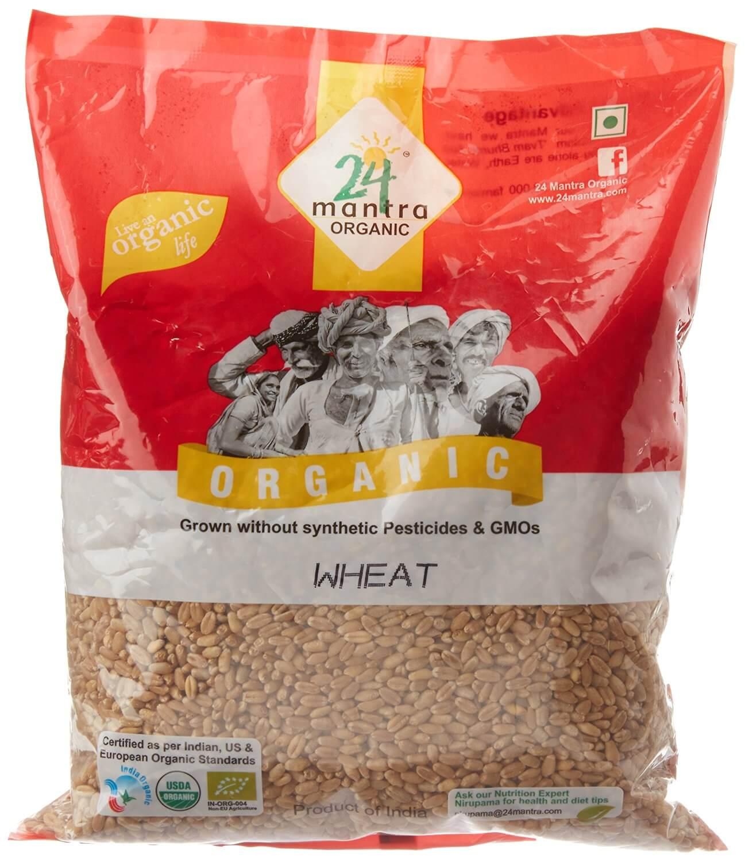 24 Mantra Organic Wheat Premium 1kg VizagShop.com