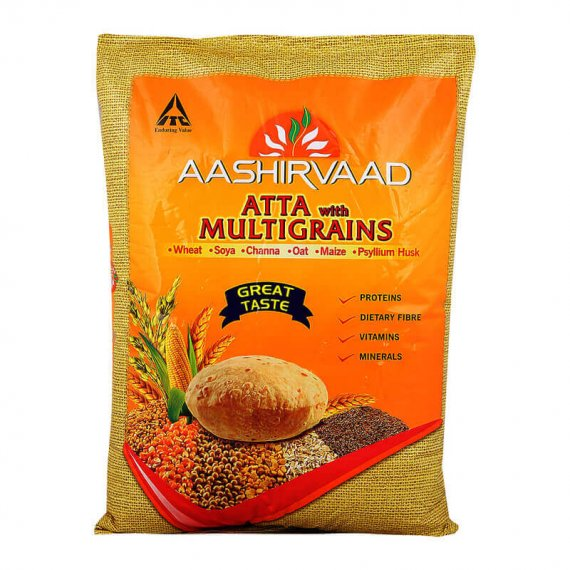 Aashirvaad Multigrain Atta 5 kg VizagShop.com