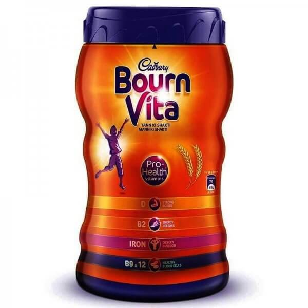 Cadbury Bournvita Chocolate Health Drink Jar 500 g VizagShop.com