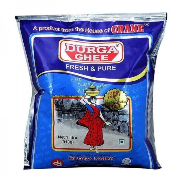 Durga Ghee Pouch 1 L VizagShop.com