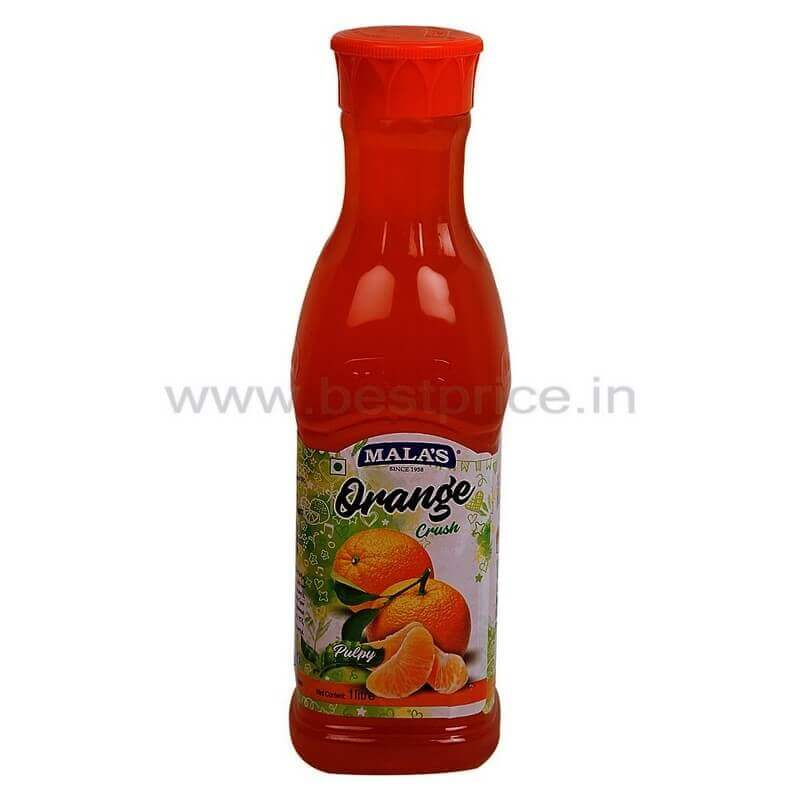 Malas Crush Drink Orange 1 L VizagShop.com