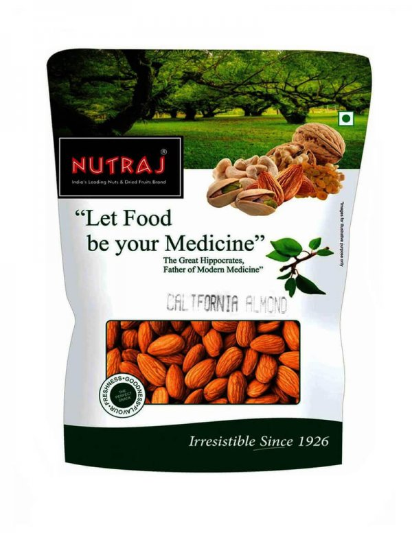 Nutraj California Almonds 1 kg VizagShop.com