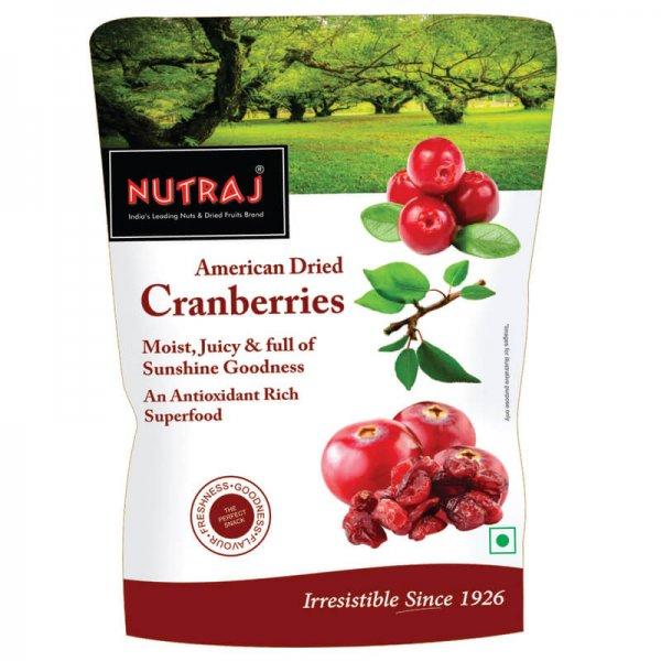 Nutraj Sliced Cranberry 180 g VizagShop.com