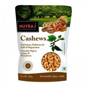 Nutraj Whole Cashew 500 g VizagShop.com
