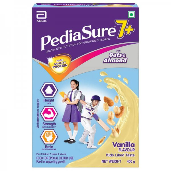 Pediasure 7 Plus Vanilla Health Drink Bib 400 g 1 VizagShop.com