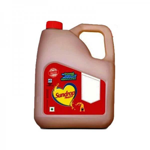 Sundrop Heart Oil Jar 3 L VizagShop.com