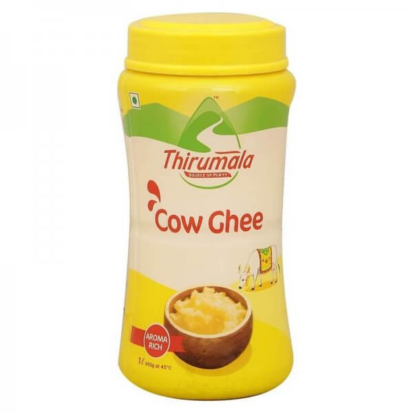 Thirumala Cow Ghee Jar 1 L VizagShop.com