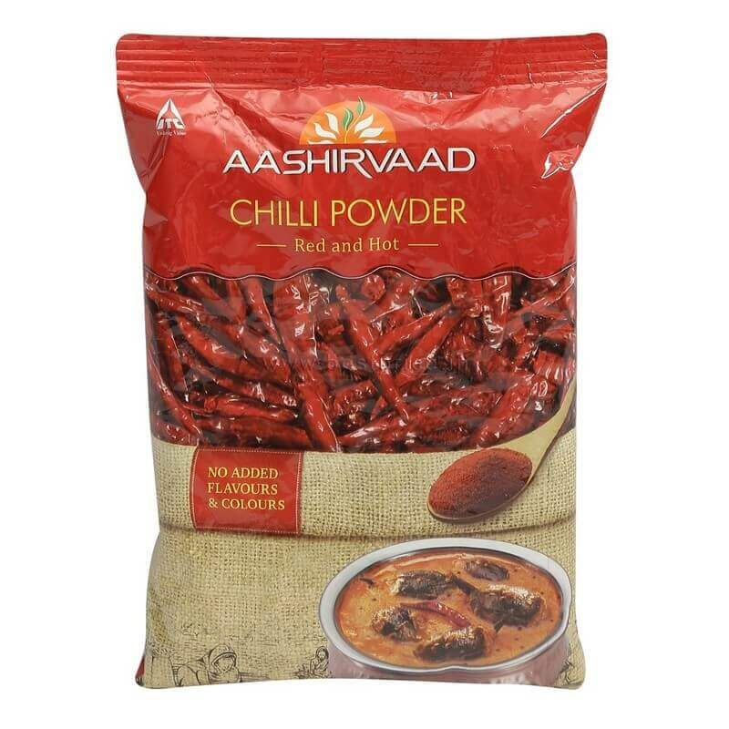 aashirwad chilli poder 100g VizagShop.com