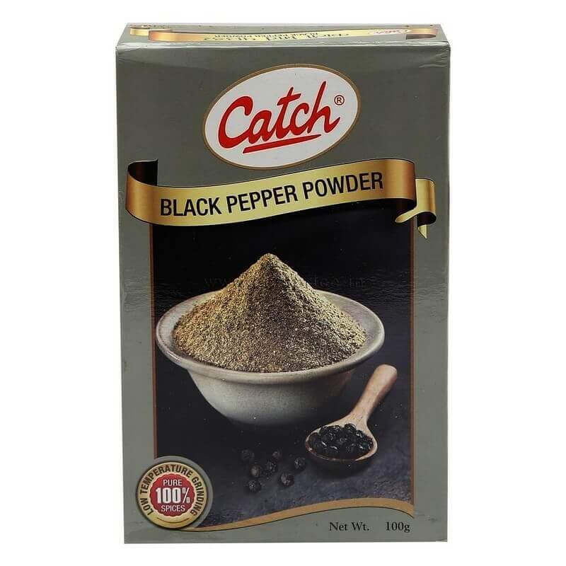 catch black peper powder 100g VizagShop.com