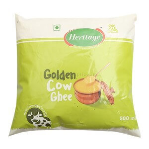 heritage cow ghee pouch 500ml VizagShop.com