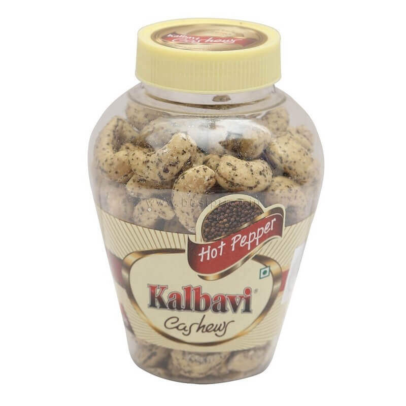 kalbavi cashews flavoured hot pepper250g VizagShop.com