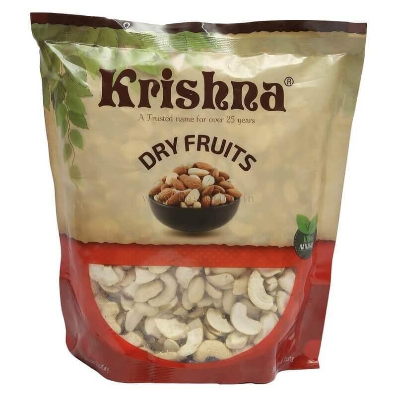 krishna cashews tukda 500g VizagShop.com
