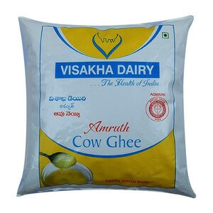 visakha cow ghee pouch 500ml VizagShop.com